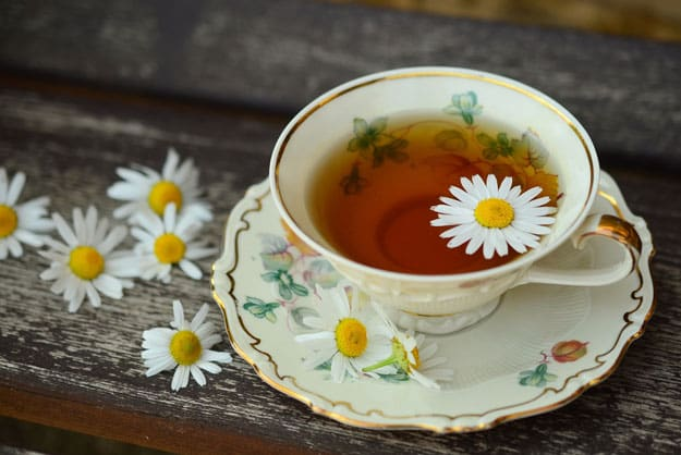 Use chamomile tea to get rid of gas | Bloating Remedies: Get Rid of Gas Naturally