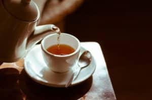 cholesterol levels green tea pb