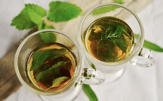 Use peppermint tea to relax your stomach | Bloating Remedies: Get Rid of Gas Naturally