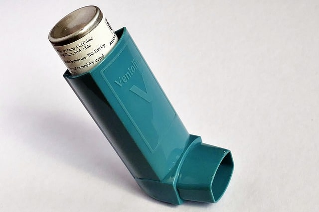 alleviate the discomfort associated with asthma