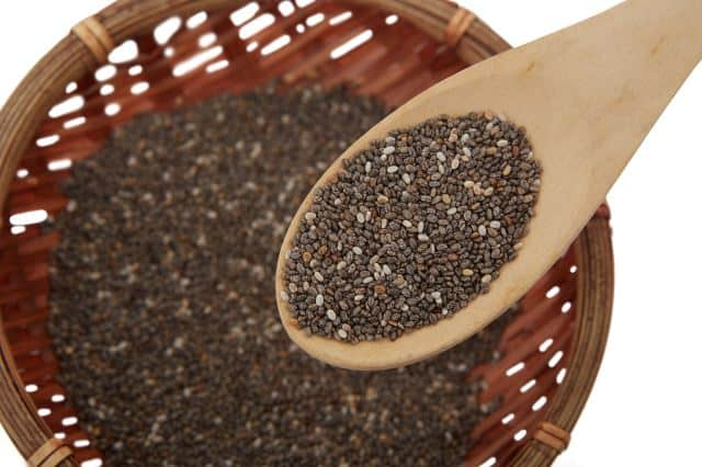 flaxseeds are full of dietary fiber which is great for treating IBS