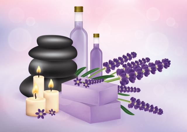 bathing with lavender oil is great for pain relief