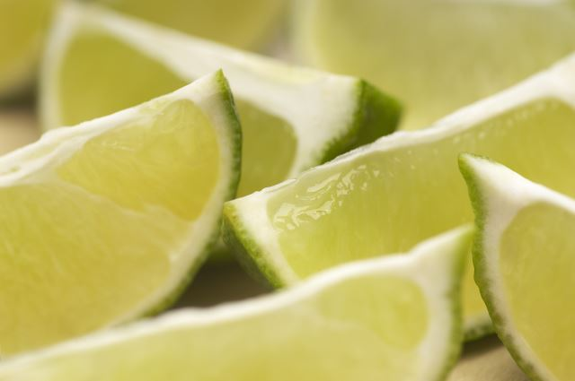add lime juice to water or tea to help with gout