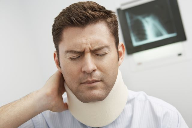 A cervical collar is a great natural way to provide pain relief for a sore neck