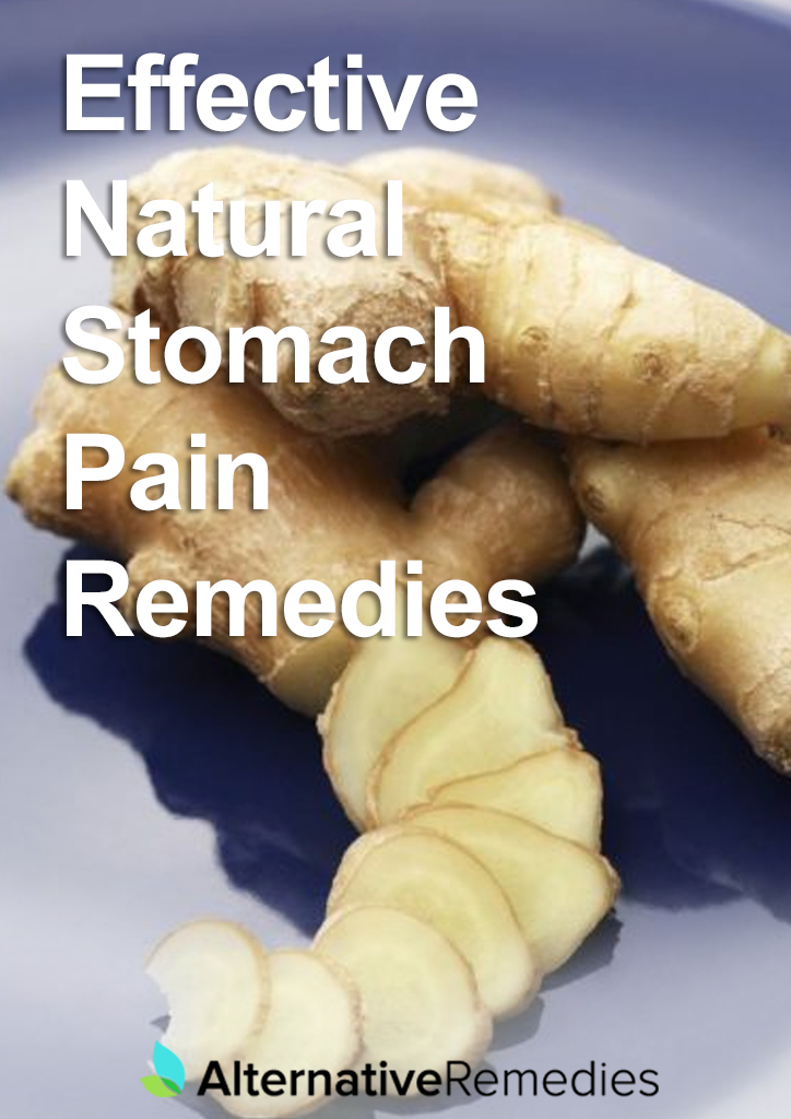 Effective Natural Stomach Pain Remedies